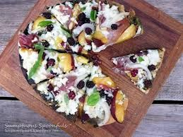 Peach and Prosciutto Grilled Chicken Pizza You'll Need: ¾ cup ...