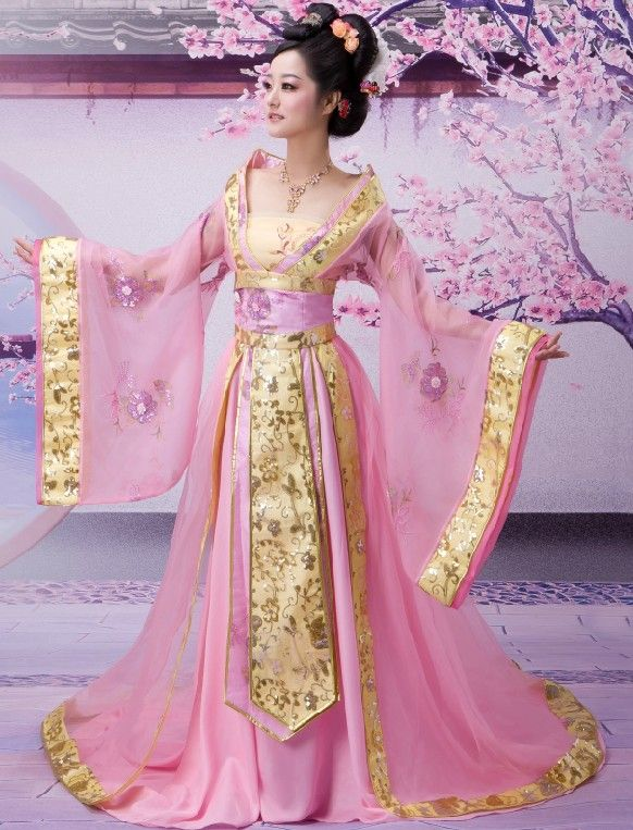 Ancient Chinese Palace Empress Costumes Beauty Exotic
