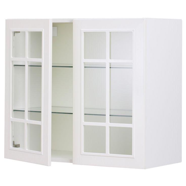 ikea faktum horizontal wall cabinet. Black Bedroom Furniture Sets. Home Design Ideas