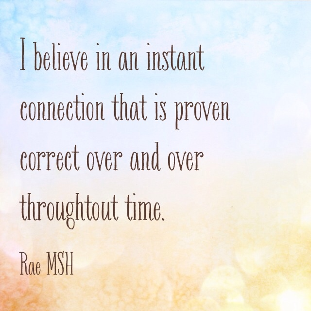 Quotes About Love Connection : Instant Connection Quotes. QuotesGram