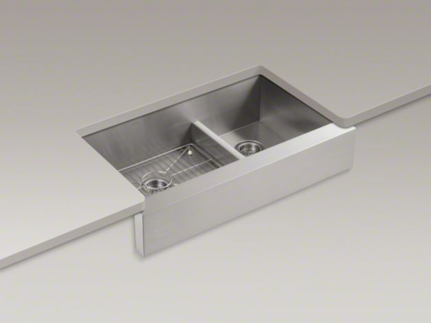 Kohler Vault Sink : Kohler Vault Sink with Apron-Front Home Inspiration Pinterest