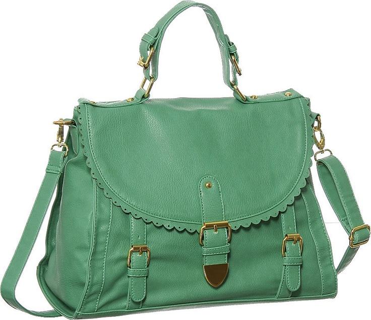 valentina green handbag