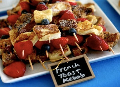 French toast kebabs | Eat Me | Pinterest