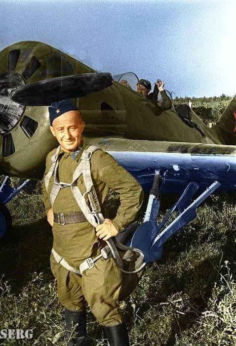 Soviet paratrooper