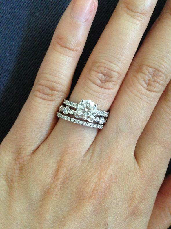 ring stack help 171 weddingbee boards jewellery i