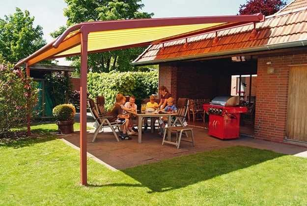 Shade For Sunny Backyard : 15 Perfect Patio Ideas Creating Comfortable Outdoor Living Spaces