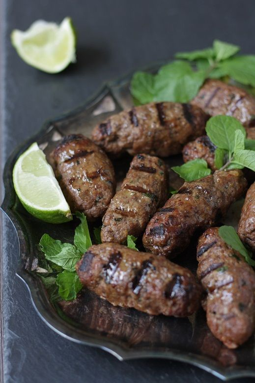 Merguez recipe -A spicy North African sausage.This version is uncased ...