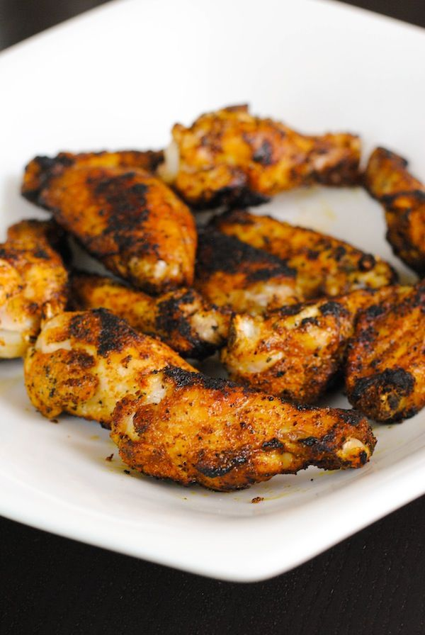 Shawarma-Spiced Grilled Chicken Wings | Sangria Party Week 2014 ...