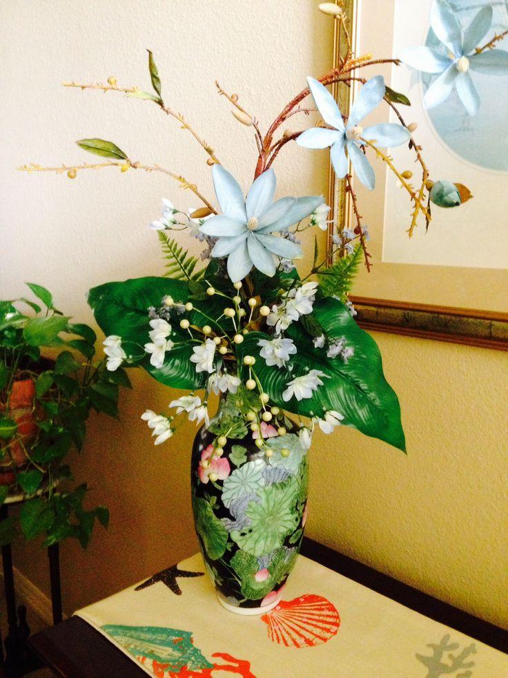 Arrangement for foyer flower arrangements pinterest for Foyer flower arrangement