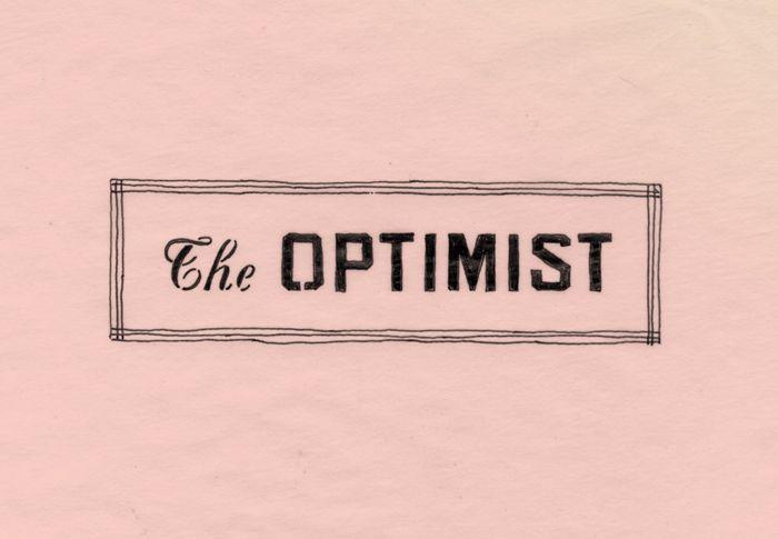 The Optimist// alvin diec