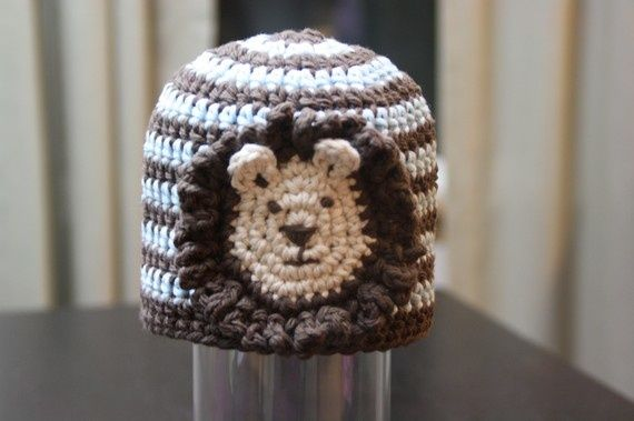 Crochet Lion kids hat.. Childrens Crochet Hats Pinterest