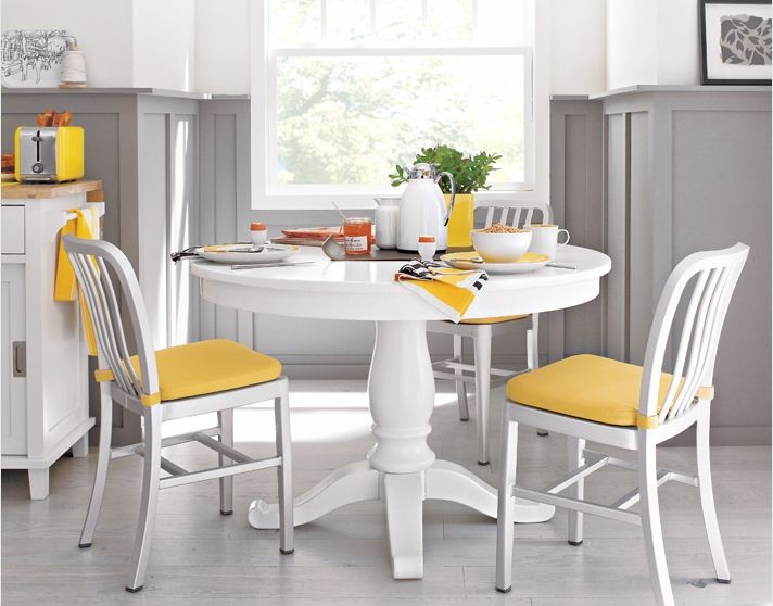 gray wainscoting in white yellow kitchen home inspiration pintere