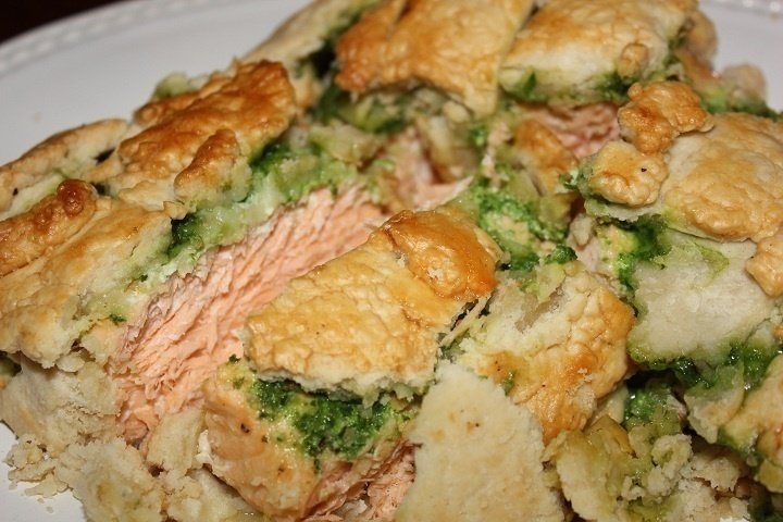 Salmon Florentine en croute | Happy New Years | Pinterest