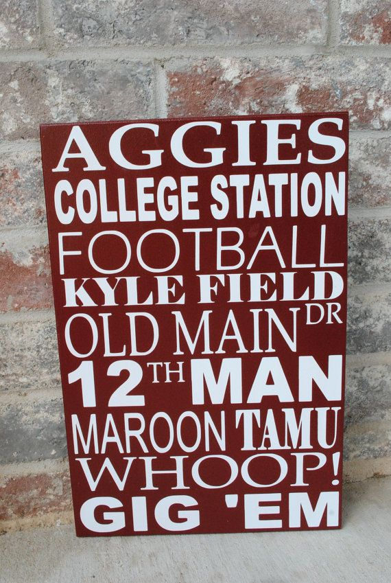 Showing some Aggie spirit!