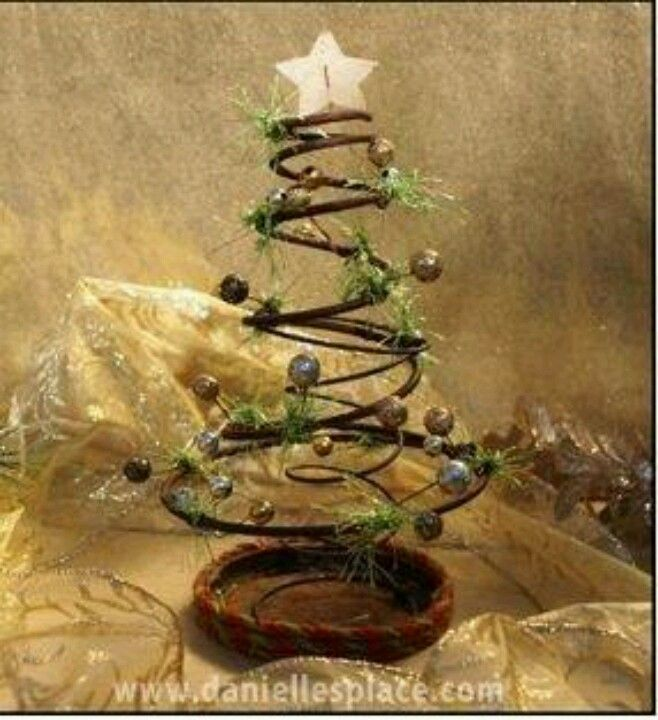 rusty bed spring christmas tree christmas pinterest