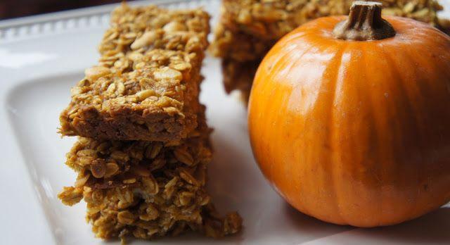 yums and loves: Pumpkin Granola Bars | Vegan Kitchen Magic- Sweet Thi ...