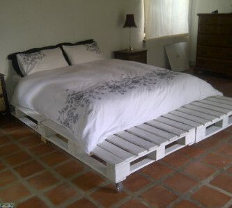 pallet bed base diy pinterest