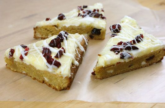 Homemade Starbucks-Style Cranberry Bliss Bars Recipes — Dishmaps