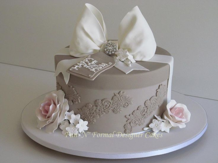 Beautiful 50th Birthday Cake 50s birthday Pinterest