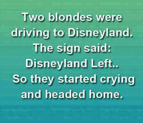 blonde joke funnies pinterest