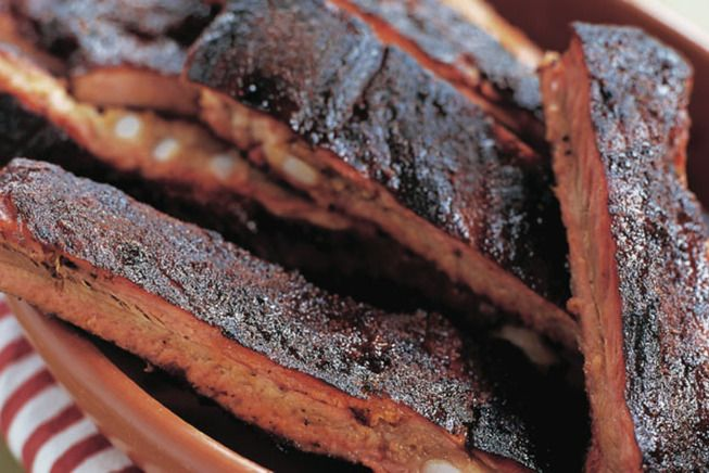 chewy, smoky, and tender, these dry-rubbed ribs are straight up ...
