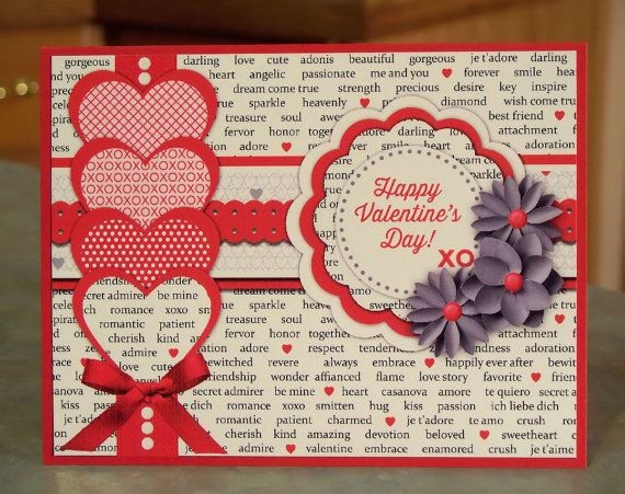 valentines day card raven