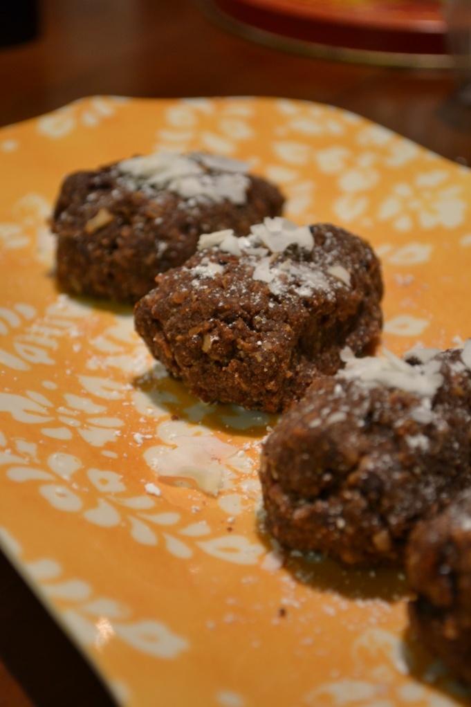 Vegan Dark Chocolate Coconut Scones
