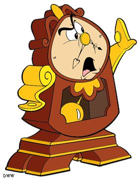 Cogsworth Beauty And The Beast 1991 Magic Of Disney