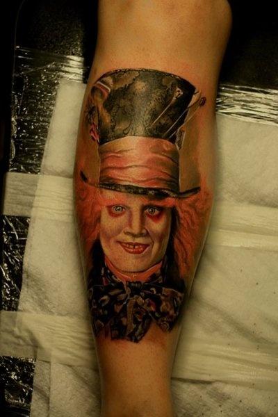 mad hatter tattoos - photo #23