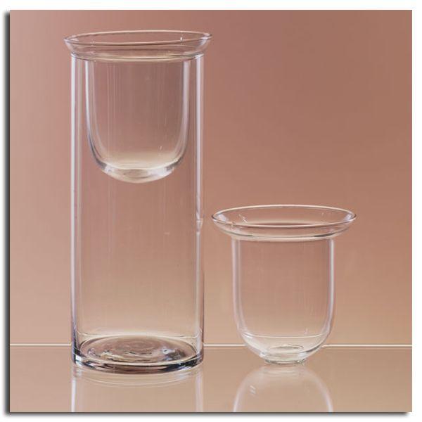 Glass cylinder insert centerpieces pinterest