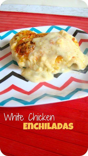 the happy little tomato: White Chicken Enchiladas