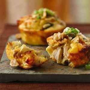 Impossibly Easy Mini Thai Chicken Pies | Delicious! | Pinterest