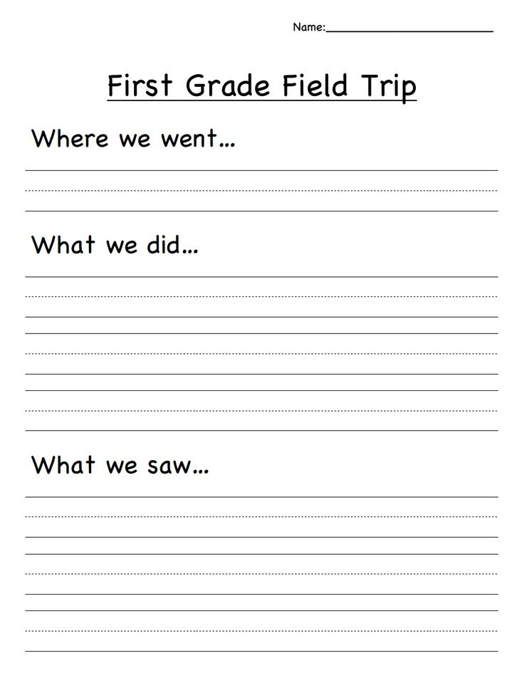 write essay on a school field trip Field trips expand children's learning through active hands-on experience with   contact the educational coordinator for the site and arrange the date and time   postcards to write near the end of the tour that will summarize the field trip visit.