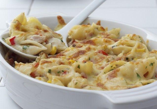 Tuna and Pasta Bake | Recipe