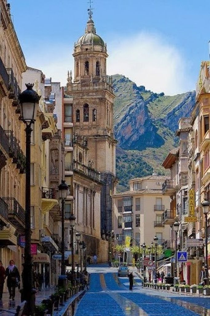 Ja n city in andalucia spain streets pinterest for Oficina turismo andalucia en madrid
