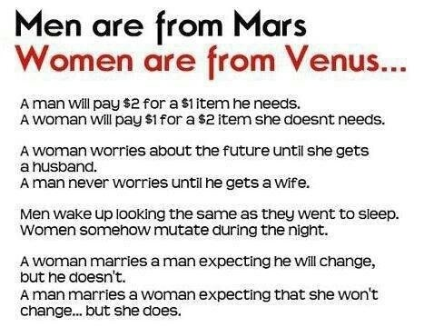 quotes men are from mars - photo #3