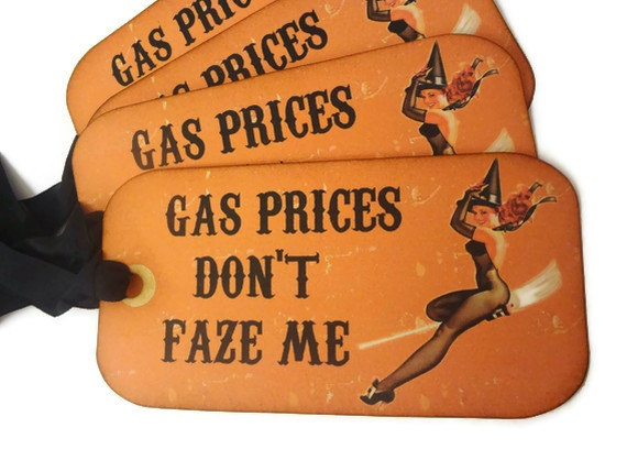 Funny Halloween Tags Halloween Witch Tags Vintage by Istriadesign