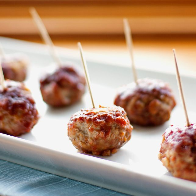 Barbecue Meatballs | Here's to Food | Pinterest