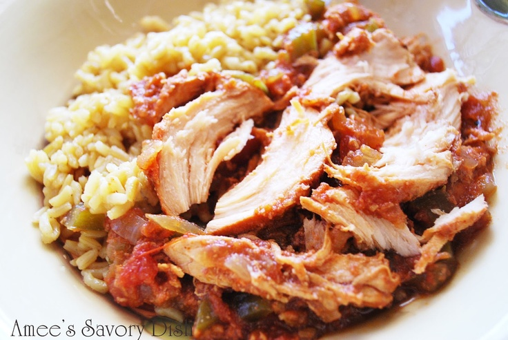 Amee's Savory Dish: Sweet and Spicy Crockpot Chicken