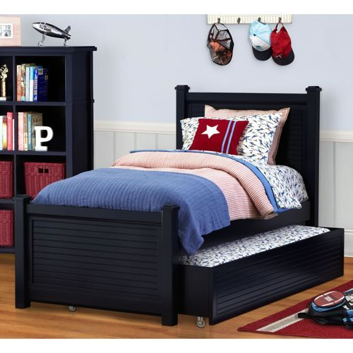 parker twin trundle bed for the boys