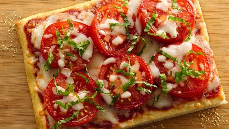 Fresh Caprese Pizza   Recipe