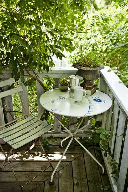 Balcony idea! Retrouvez nous sur A Vos Lunettes Le Blog ! http://avoslunettes.blogspot.com/