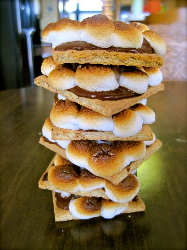 Oven baked s'mores | Recipe Book | Pinterest