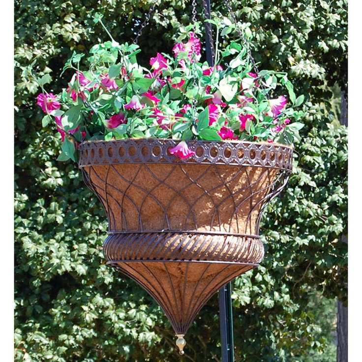 Victorian Hanging Flower Baskets : Pin by lorraine knox on plant hangers