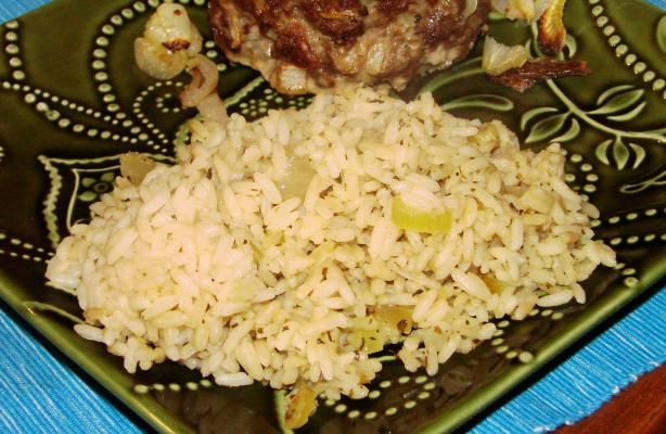 Rice Pilaf with Herbs from Food.com: Especially good pilaf. The celery ...
