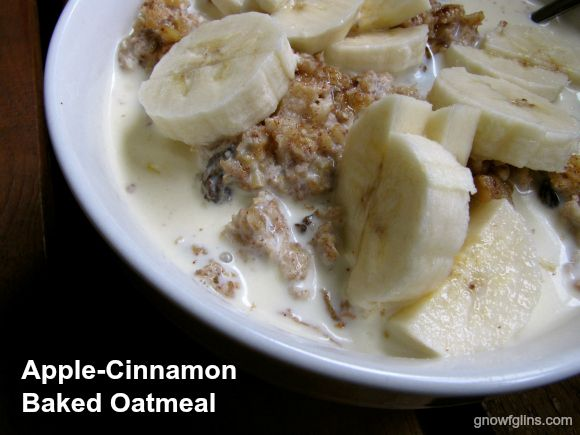 Apple Cinnamon Baked Oatmeal (soaked) | Recipes from scratch - Real f ...