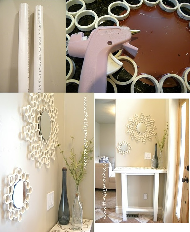 Pvc glue and inspiration pvc projects pinterest for Pvc crafts