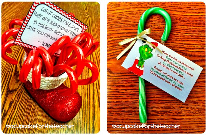 red candy canes turned green by a lick from the Grinch :: A Cupcake ...