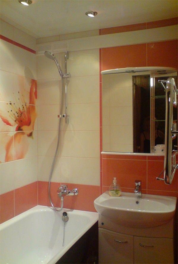 Ремонт ванной комнаты своими руками в брежневке 14