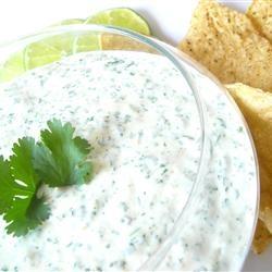 Amy's Cilantro Cream Sauce Allrecipes.com